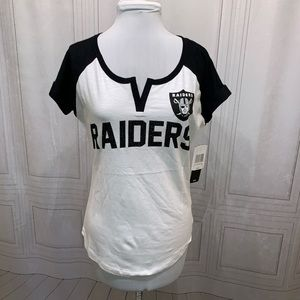 Oakland Raiders S/S Sequin T-shirt NWT